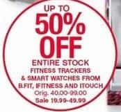 Belk Black Friday: Entire Stock Fitness Trackers and Smart Watches from B.Fit, iFitness and iTouch for $19.99 - $49.99