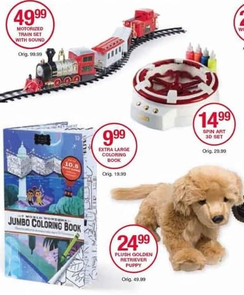 Belk Black Friday: Plush Golden Retriever Puppy Doll for $24.99