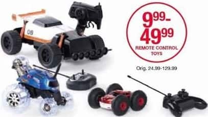 Belk Black Friday: Remote Control Toys for $9.99 - $49.99