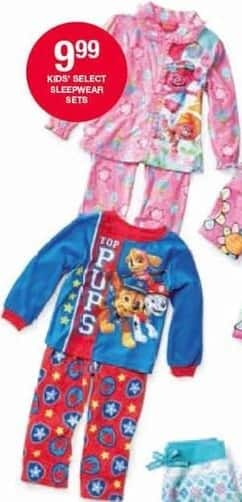 Belk Black Friday: Kids' Sleepwear Sets in Select Styles for $9.99