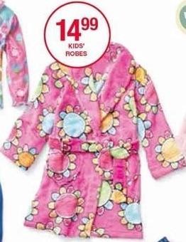 Belk Black Friday: Kids' Robes for $14.99