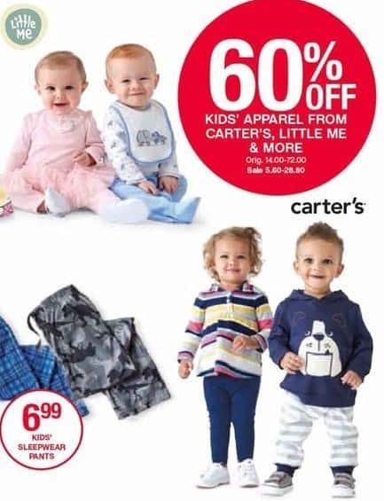 Belk Black Friday: Kids Apparel from Carter's, Little Me and More - 60% Off