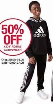Belk Black Friday: Kids' Adidas Activewear - 50% Off