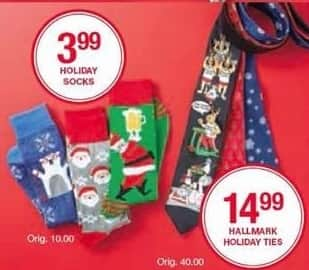 Belk Black Friday: Holiday Socks for $3.99