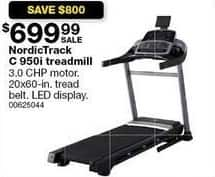 Sears Black Friday: NordicTrack C 950i Treadmill for $699.99