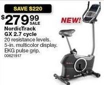 Sears Black Friday: NordicTrack GX 2.7 Cycle for $279.99