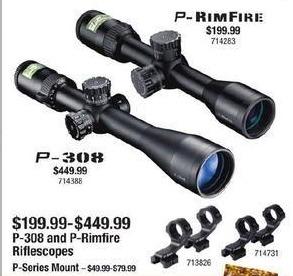 Cabelas Black Friday: Nikon P-Rimfire for $199.99