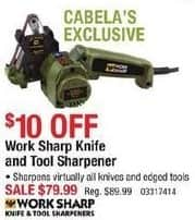 Cabelas Black Friday: Work Sharp Knife and Tool Sharpener for $79.99