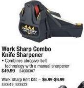 Cabelas Black Friday: Work Sharp Combo Knife Sharpener for $49.99