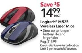 Office Depot and OfficeMax Black Friday: Logitech M525 Wireless Laser Mice for $14.99