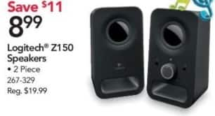 Office Depot and OfficeMax Black Friday: Logitech Z150 Speakers for $8.99