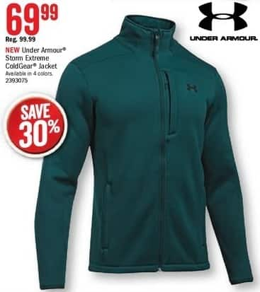 Bass Pro Shops Black Friday: Under Armour Men's Storm Extreme ColdGear Jacket for $69.99