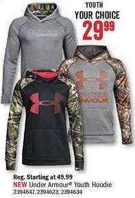 Bass Pro Shops Black Friday: Under Armour Women's Hoodie for $29.99