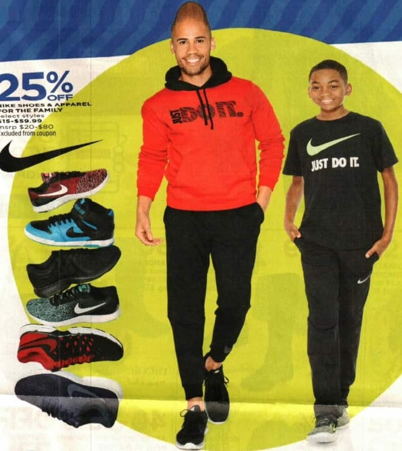 JCPenney Cyber Monday: Nike Shoes and Apparel for Men, Women, and Kids - 25% Off