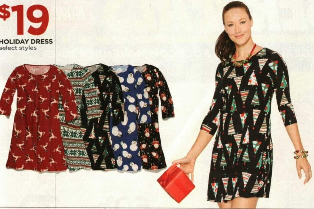 JCPenney Cyber Monday: Women's Holiday Dress, Select Styles for $19.00