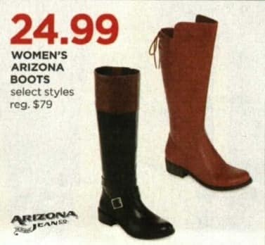 JCPenney Cyber Monday: Arizona Women's Boots, Select Styles for $24.99
