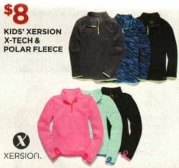 JCPenney Cyber Monday: Xersion Kids' X-Tech and Polar Fleece for $8.00