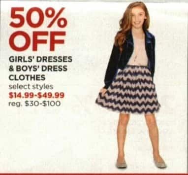 JCPenney Cyber Monday: Girls' Dresses, Select Styles - 50% Off