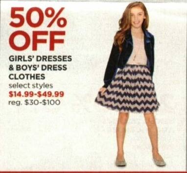 JCPenney Cyber Monday: Boys' Dress Clothes, Select Styles - 50% Off