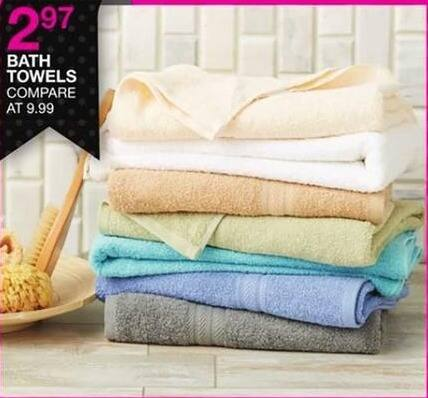 Bealls Florida Black Friday: Bath Towels for $2.97