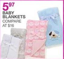 Bealls Florida Black Friday: Baby Blankets for $5.97