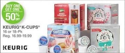 Bealls Florida Black Friday: Keurig K-Cups, 16 or 18-Pks - B1G1 50% Off