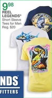 Bealls Florida Black Friday: Reel Legends Men's Short Sleeve Tee Shirt for $9.98
