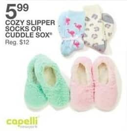 Bealls Florida Black Friday: Capelli Women's Cuddle Sox for $5.99