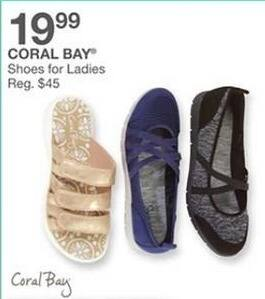 Bealls Florida Black Friday: Coral Bay Women's Shoes for $19.99