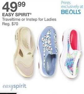 Bealls Florida Black Friday: Easy Spirit Women's Shoes in Traveltime or Instep Styles for $49.99