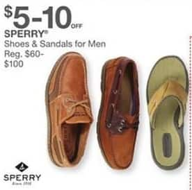 Bealls Florida Black Friday: Sperry Men's Shoes and Sandals for $55.00 - $95.00