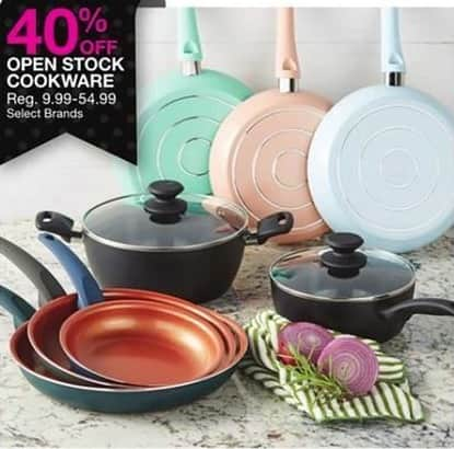 Bealls Florida Black Friday: Open Stock Cookware, Select Brands - 40% Off