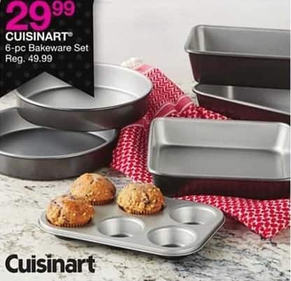Bealls Florida Black Friday: Cuisinart Bakeware Set, 6-Pc. for $29.99