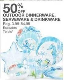 Bealls Florida Black Friday: Outdoor Dinnerware, Serveware and Drinkware - 50% Off