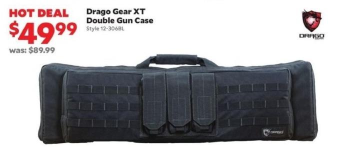 Academy Sports + Outdoors Black Friday: Drago Gear XT Double Gun Case for $49.99