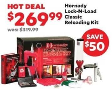 Academy Sports + Outdoors Black Friday: Hornady Lock-n-Load Classic Reloading Kit for $269.99