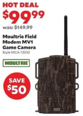 Academy Sports + Outdoors Black Friday: Moultrie Field Modem MV1 Game Camera for $99.99