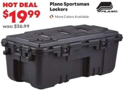 Academy Sports + Outdoors Black Friday: Plano Sportsman Lockers for $19.99
