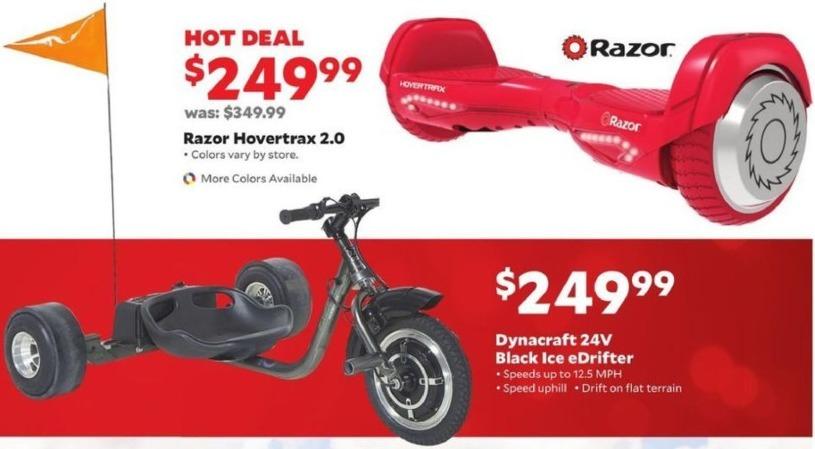 Academy Sports + Outdoors Black Friday: Razor Hovertrax 2.0 for $249.99