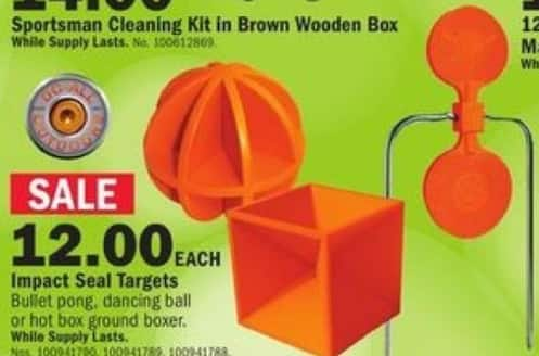 Mills Fleet Farm Black Friday: Do-All Impact Seal Targets for $12.00