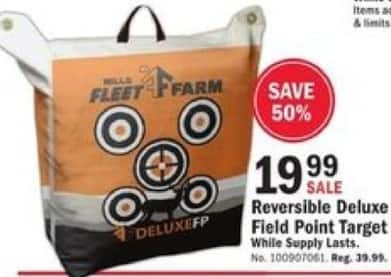 Mills Fleet Farm Black Friday: Fleet Farm Reversible Deluxe Field Point Target for $19.99