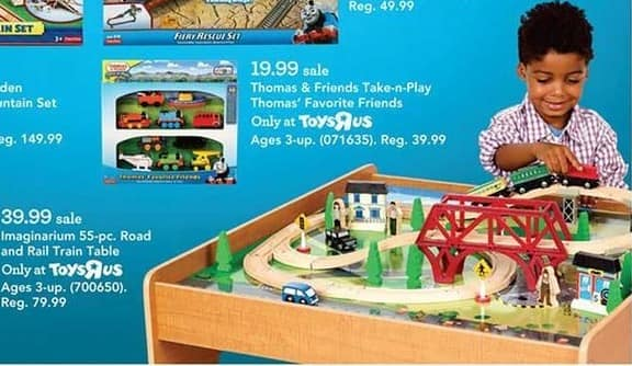 Toys R Us Black Friday: Thomas & Friends Take-n-Play Thomas' Favorite Friends for $19.99