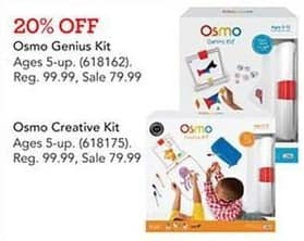 Toys R Us Black Friday: Osmo Genius Kit for $99.99