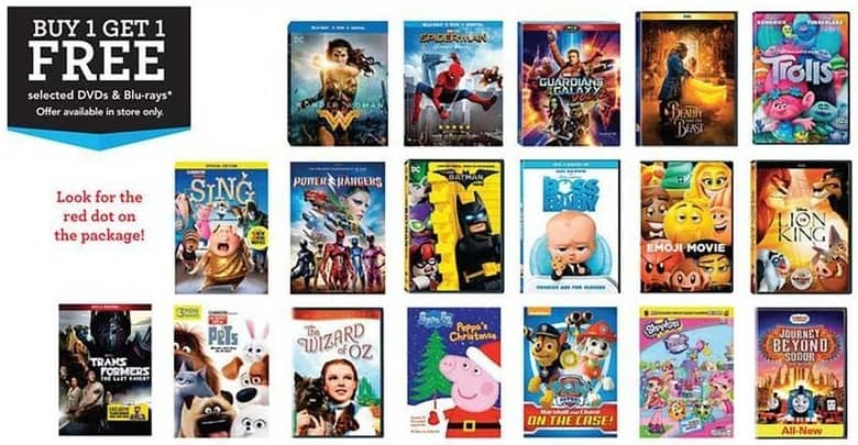 Toys R Us Dvd : Toys r us black friday dvds and blu rays select titles