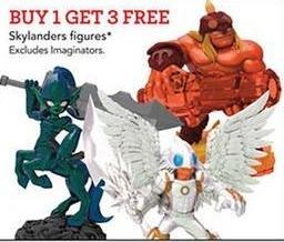 Toys R Us Black Friday: Skylanders Figures - B1G3 Free