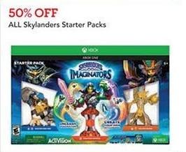 Toys R Us Black Friday: All Skylanders Starter Packs - 50% Off