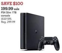 Toys R Us Black Friday: Sony PS4 Slim 1TB Console for $199.99