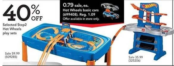 Toys R Us Black Friday: Step2 Hot Wheels Play Sets, Select Styles for $59.99