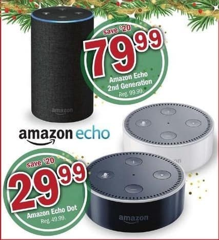 Meijer Black Friday: Amazon Echo 2nd Generation for $79.99