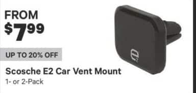 Groupon Black Friday: Scosche E2 Car Vent Mount for $7.99